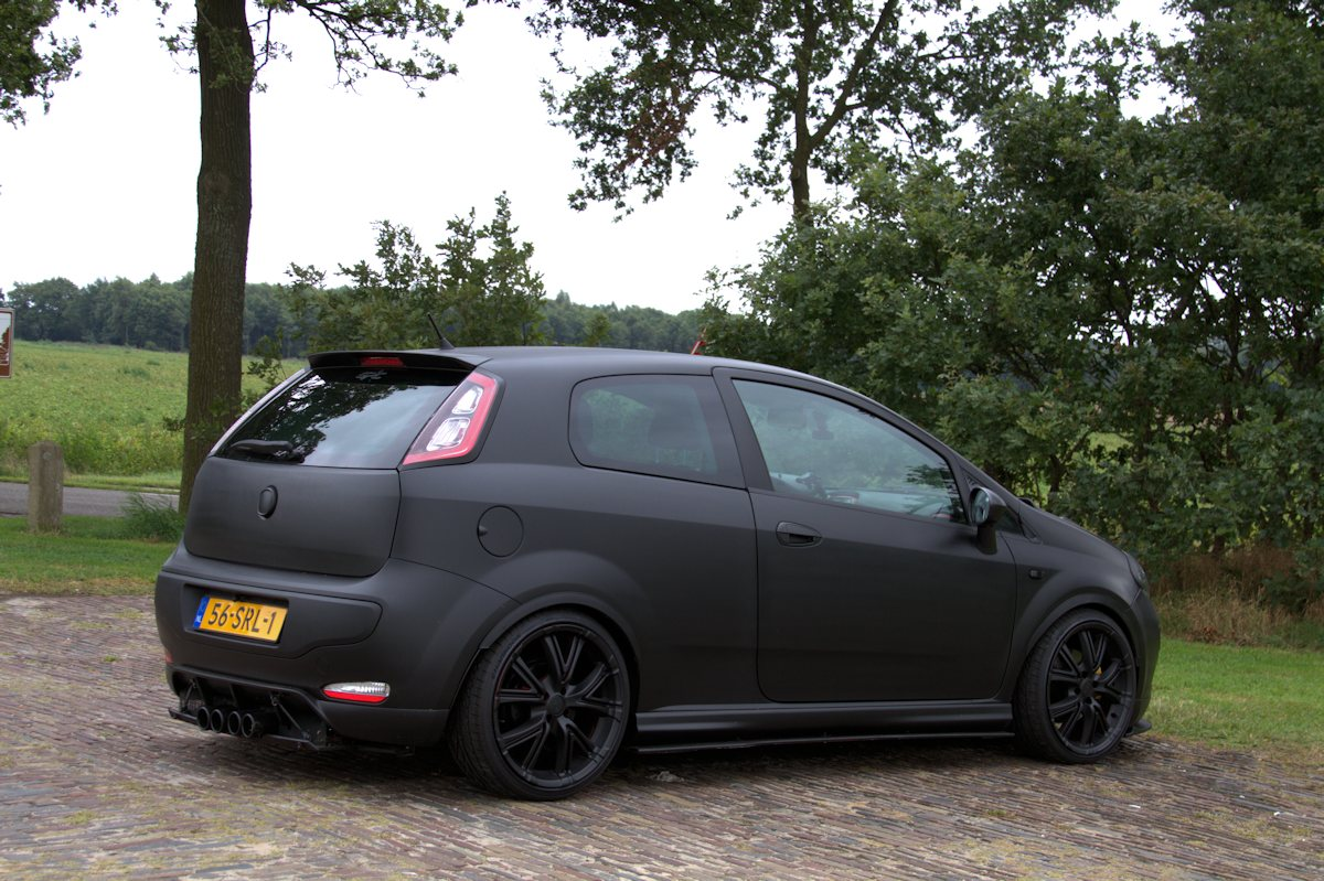 fiat punto evo sporting tuning. Black Bedroom Furniture Sets. Home Design Ideas